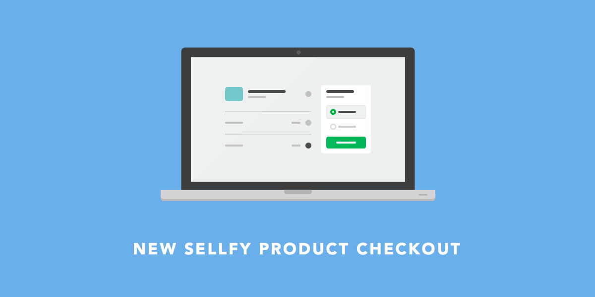 New Sellfy Product Checkout