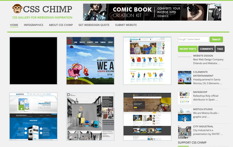 CSS Chimp