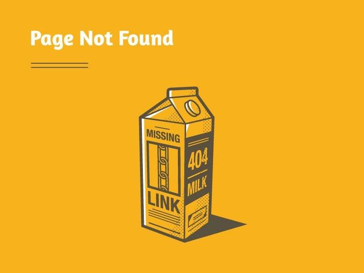 missing-link-404-concept