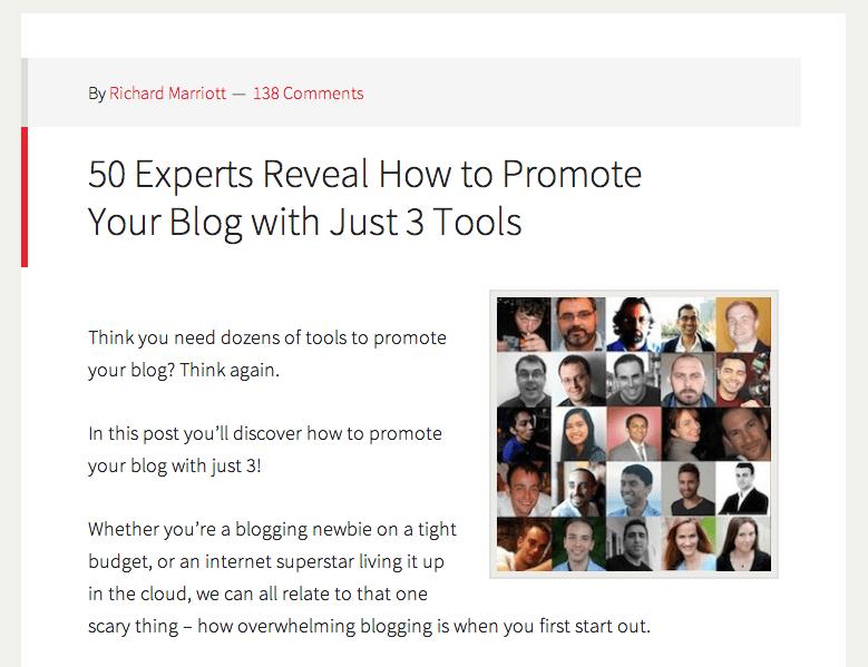 Expert Roundups