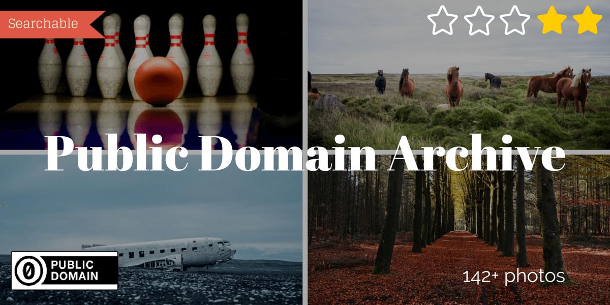 Public Domain Archive