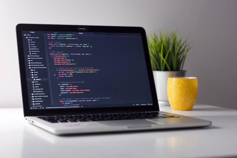 code a website