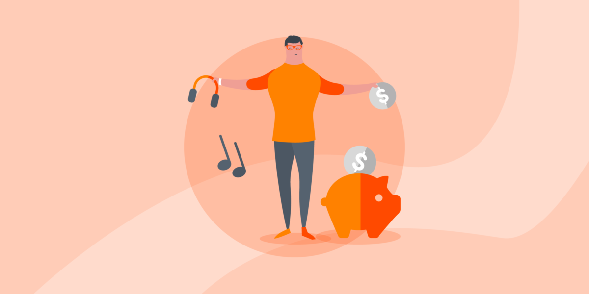 How to sell music & MP3s from your website in 4 easy steps