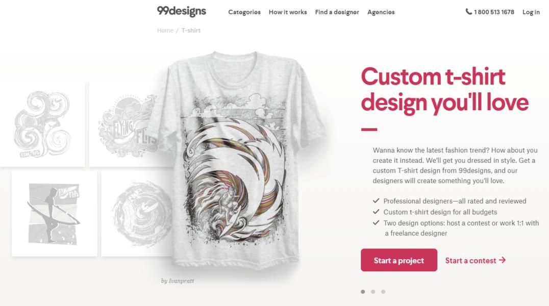 99designs tshirt design contest