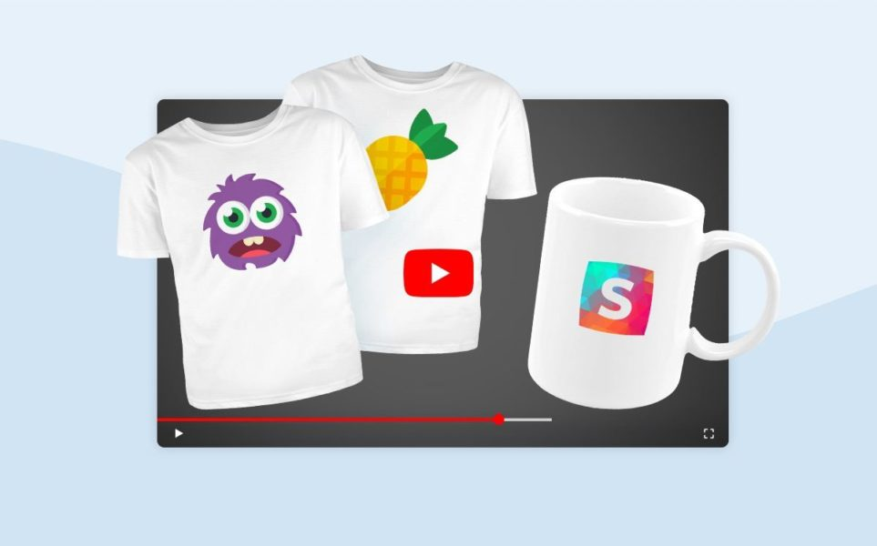 How to make merchandise for your YouTube channel in 10 minutes