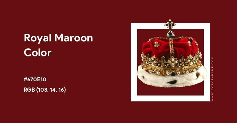 Royal Maroon