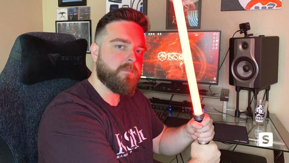Star Wars fan turned lightsaber sound font artist: how Kiennen's unique hobby grew into a business